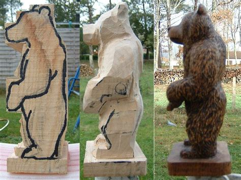 pin  chainsaw carving art bill httpwww