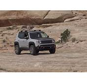 Driving The Jeep Renegade Commander Concept Off Road At