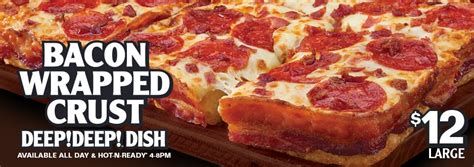 Little Caesars Gift Card - giveaway little caesars gift card bacon wrapped crust deep deep dish pizza