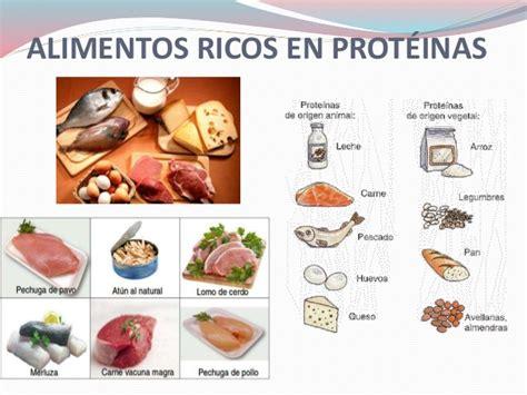 proteinas en los alimentos - Alimentos Q Tienen Proteinas
