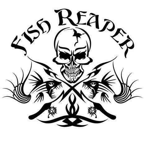 Gaston Tribal Diskon aliexpress buy fishing sticker name skull fish