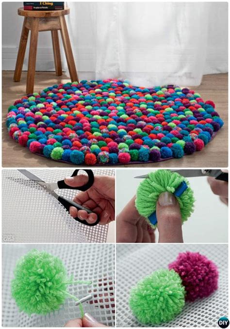 diy throw rug 20 no crochet diy rug ideas projects