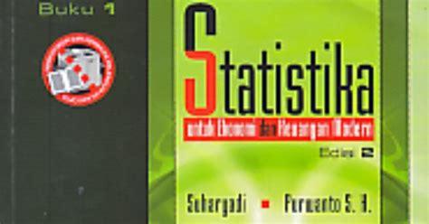 Statistika Untuk Ekonomi Keuangan Dan Modern toko buku rahma statistika untuk ekonomi dan keuangan modern buku 1