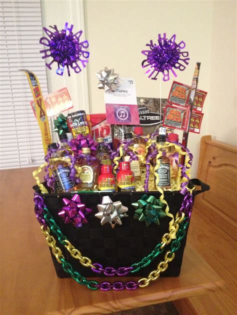 themed birthday gift baskets 1000 images about mardi gras basket ideas on pinterest