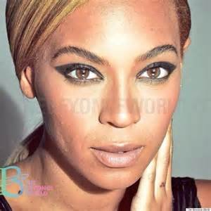 unretouched beyonce photos prove that she s just as