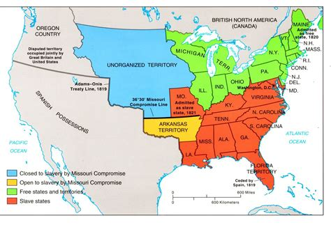 sectionalism map slavery and sectionalism advanced placement american history