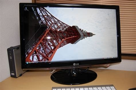 Mouse Flaxtron lg flatron wide lcd w2361vg pf を購入してみた mouseloop マウスマニアが