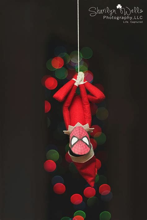 free printable elf on the shelf spiderman mask sharilyn wells photography december 2013
