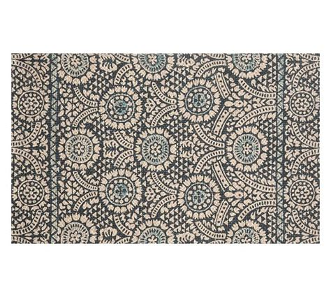 pottery barn fiber rugs printed fiber rug blue pottery barn