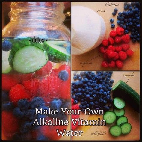 How To Make A Detox Vitamin Water by 13 Best Images About Juice Recipes On