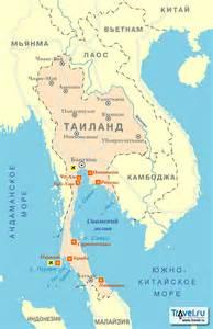 бангкок на карте мира