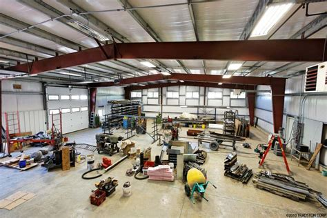 build a shop prefab garage workshops workshop steel buildings metal