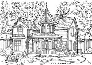 home design coloring book 741 best images about adult colouring buildings houses