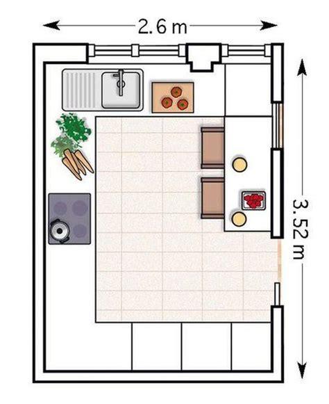 croquis de cocinas planos de cocinas modernas