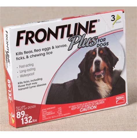 flea tick frontline plus dogs frontline plus flea tick for dogs drsfostersmith