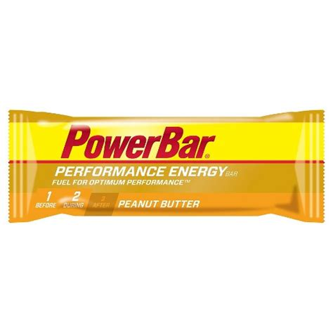 top rated energy bars powerbar performance energy bar peanut butter 12ct
