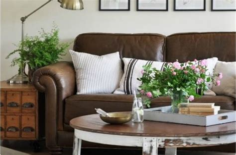 How to Love Your Brown Sofa  Home Made Modern