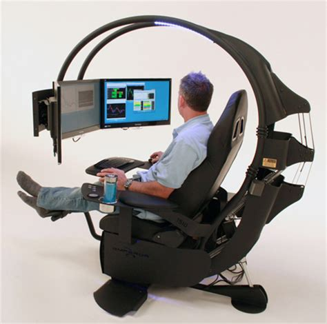 this is the ultimate in ergonomic computer workstations ultimate workstation