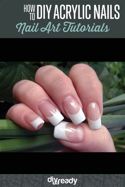 best 25 acrylic nails at home ideas on