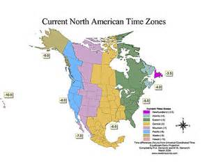 North American Time Zone Map by Pics Photos Related Pictures North American Time Zones