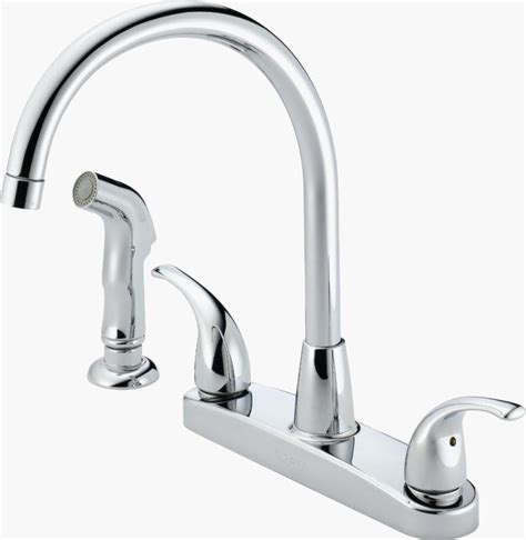 Leaky Kitchen Sink Faucet Delta Faucet Leaking How To