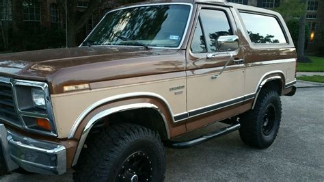ford bronco for sale 1986 ford bronco 4 215 4 for sale