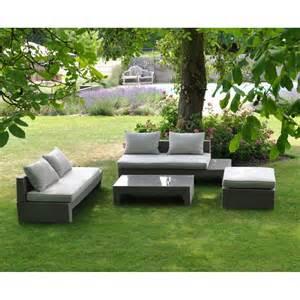 achat salon de jardin transat mobilier de jardin