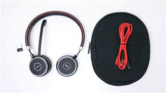 Comfortable Headsets Jabra Evolve 65 Ms Stereo Review Freeing You From Wires