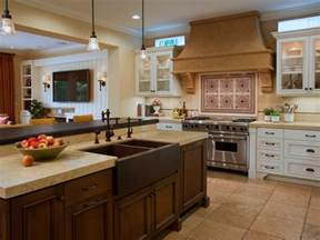 islands in kitchens photo page hgtv