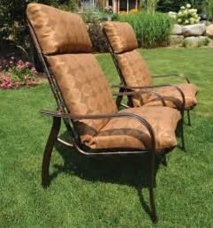 outdoor high back chair cushions patio chair cushions high back