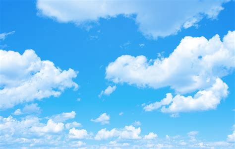 A Sky Blue by Blue Sky Background With A Tiny Clouds Altura Elementary
