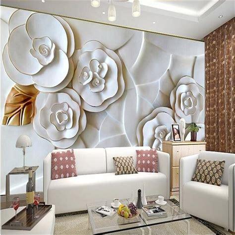 buy custom photo wallpaper embossed wall