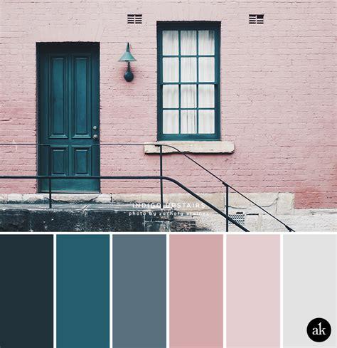 an indigo door inspired color palette akula kreative