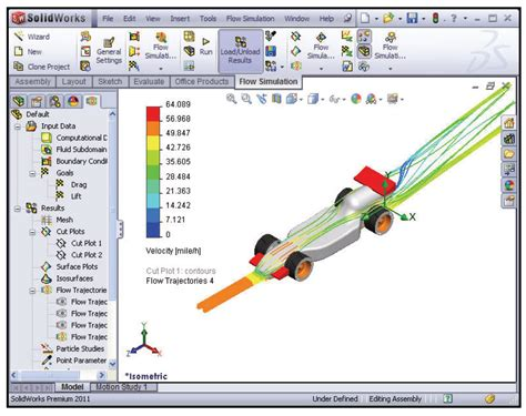 tutorial solidworks flow simulation 2011 cfd tutorial inlet flow air over a wing and more