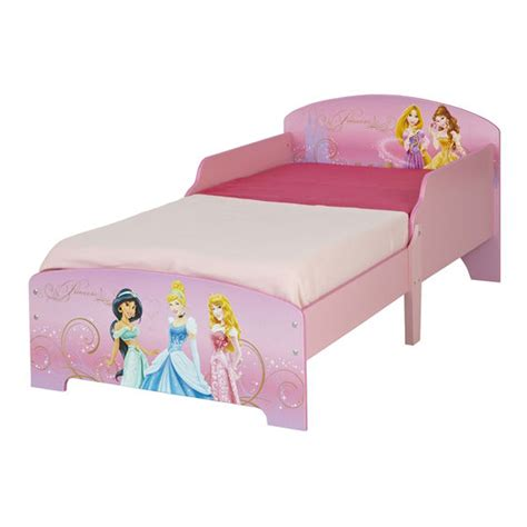 Disney Princess Mdf Toddler Bed New Junior Bedroom Ebay Disney Princess Beds