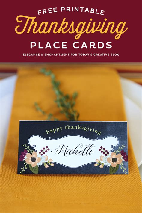 decorating printable thanksgiving place cards free printable thanksgiving place cards