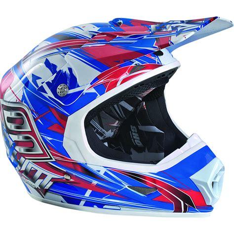 blue motocross helmets thumbnail 3