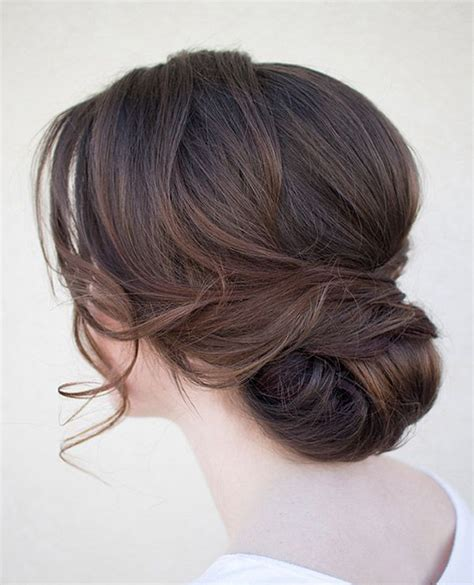 Low Updo Hairstyles 20 low updo hair styles for brides mon cheri bridals