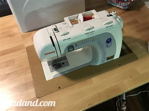 sewing machine table insert diy sewing machine table dadand com dadand com