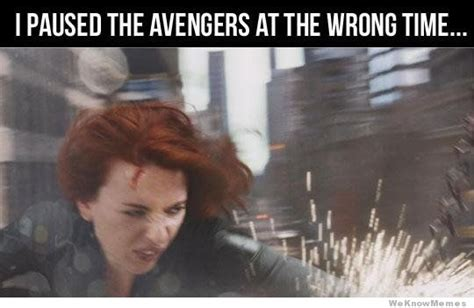 The Avengers Memes - i paused the avengers at the wrong time weknowmemes