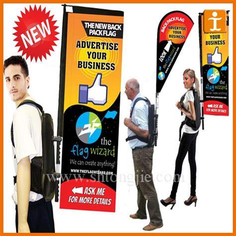Sign Backpack china cheap advertising backpack signs tj 03 photos