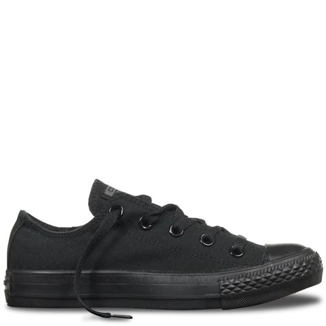 Best Product Sepatu Converse All Low Classic Black chuck all classic colour low top black mono