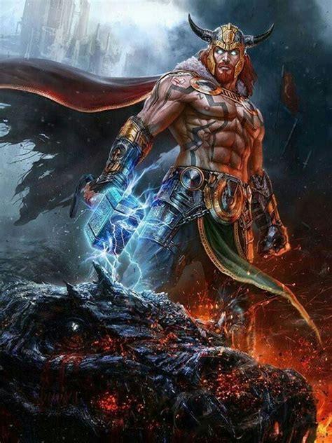 ancient god thor thor mythology google search mythological figures