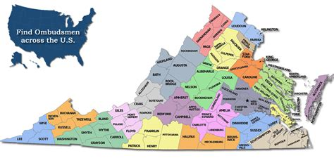 Find Uva Virginia Office Of The State Term Care Ombudsman Find Your Ombudsman
