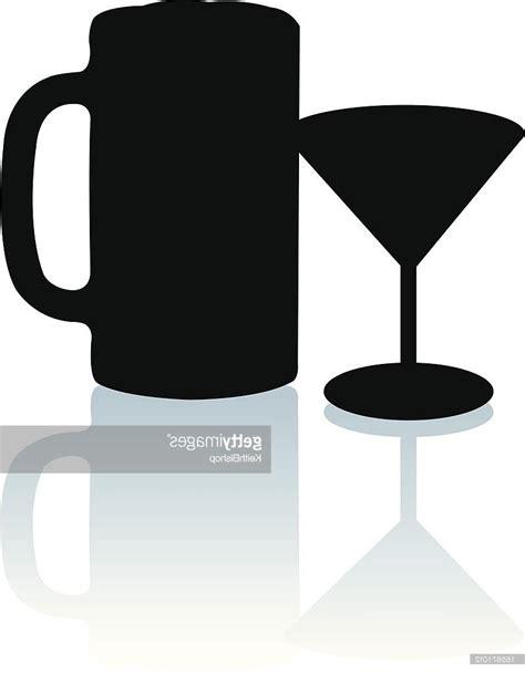 martini silhouette vector 100 martini glasses clipart cartoon vector outline