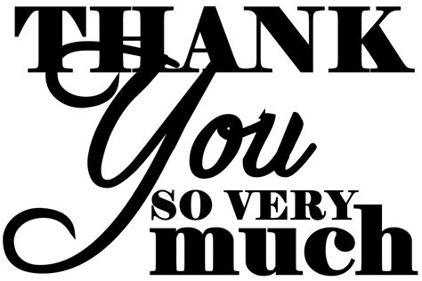 Thank You Much Clipart by Thank You Quotes For Priest Quotesgram