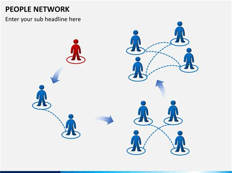 network templates for powerpoint free download people network powerpoint template sketchbubble