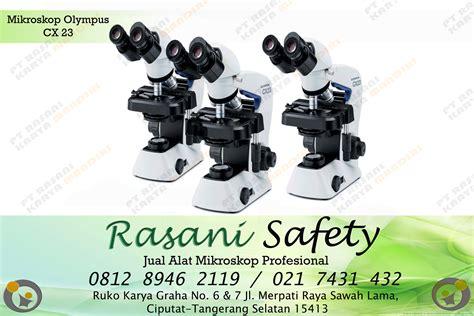 jual alat mikroskop profesional olympus rasani safety