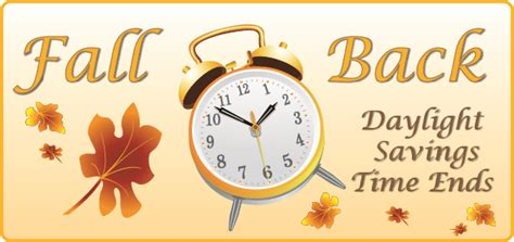 Early Daylight Savings Changes by Fall Back Cadence Education