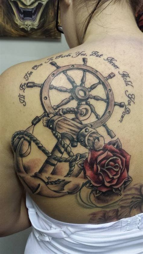 ship wheel tattoo meaning ship wheel tattoos designs ideas and meaning tattoos